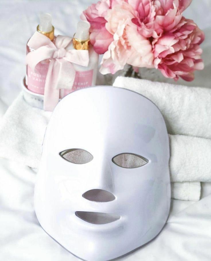 masque LED pour visage