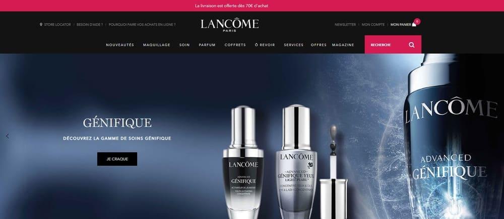 Lancome-web