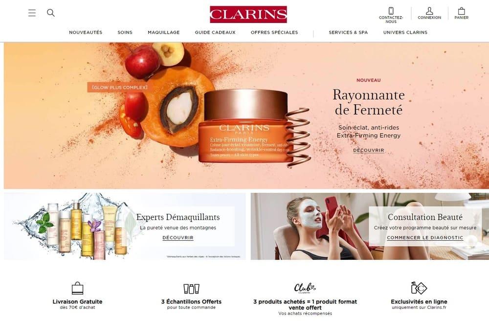 marque-de-cosmetiques-francaises-Clarins-web